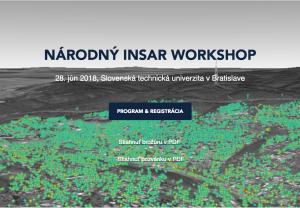 [SK] Národný InSAR Workshop